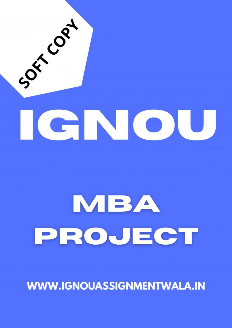 ignou ms 100 project