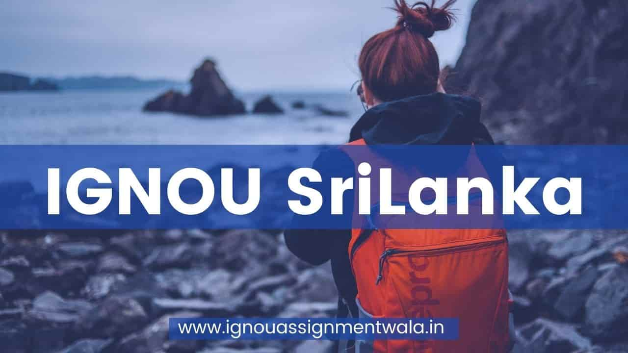 IGNOU SriLanka
