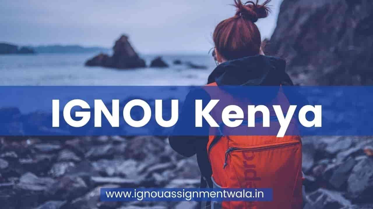 IGNOU kenya
