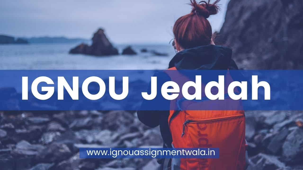 You are currently viewing IGNOU Jeddah