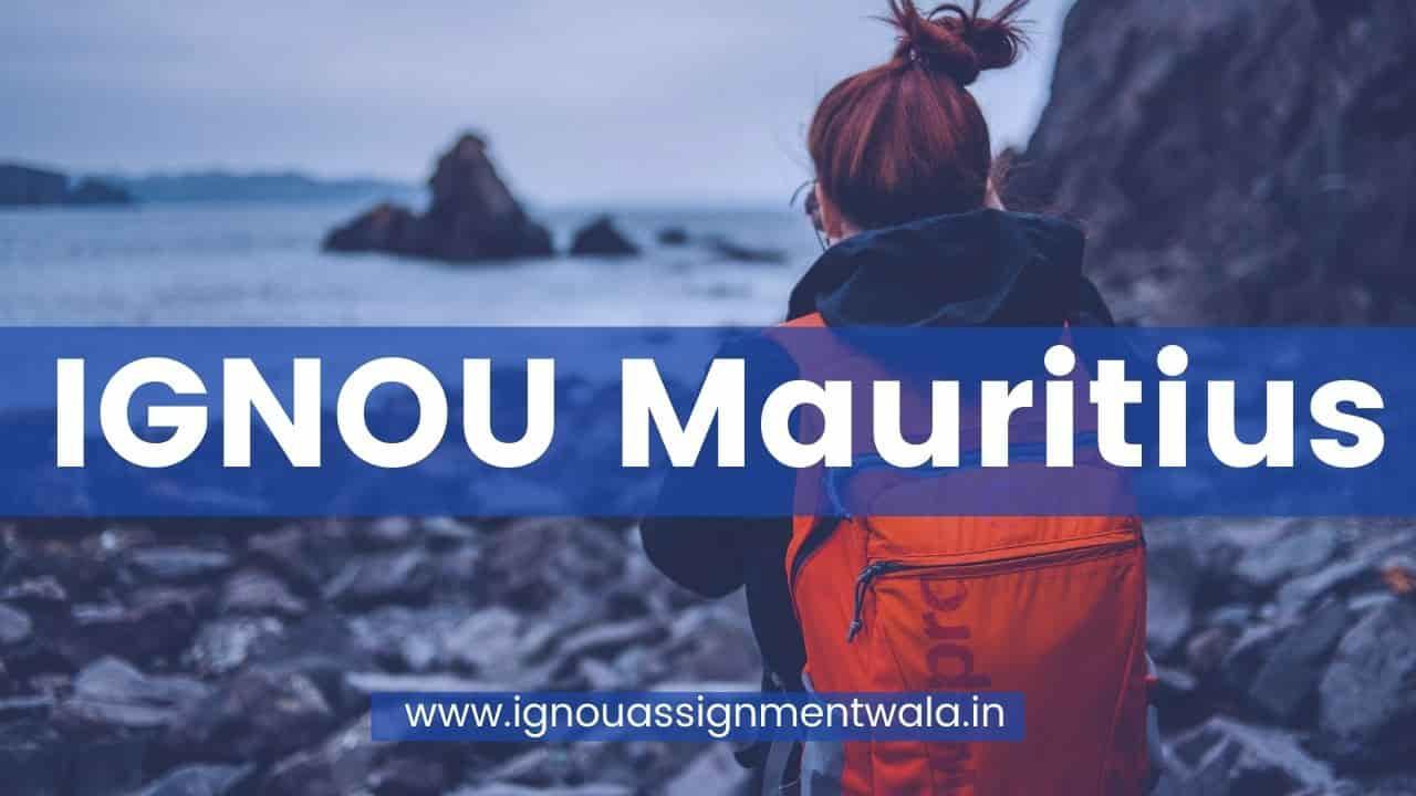 IGNOU Mauritius