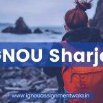 IGNOU Sharjah