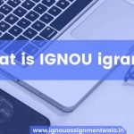 What is IGNOU igram ?